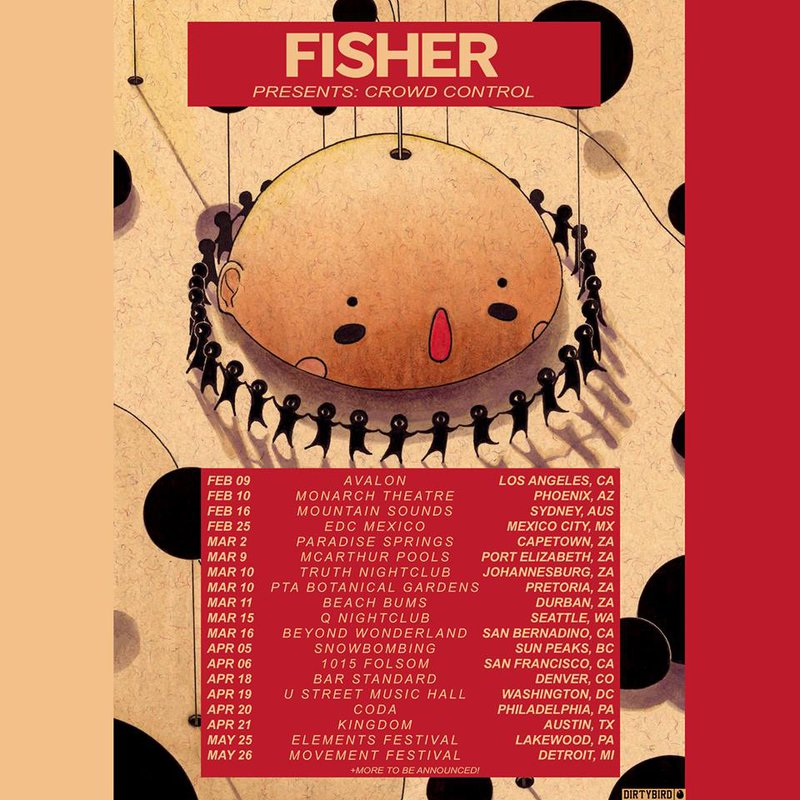 Fisher (CC Tour / Poster)