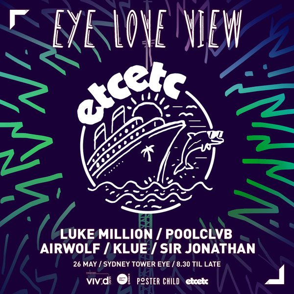 Eye Love View (Square Poster / still)