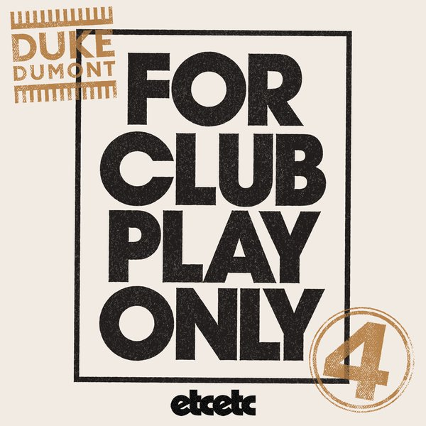 Duke Dumont (FCPO Vol 4 / packshot)