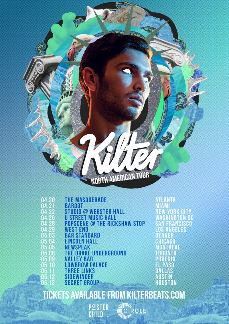 Kilter (US Tour 17 / A3 flyer)